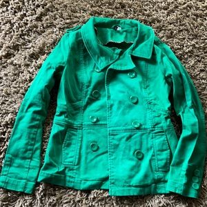 H & M Jean Pea coat